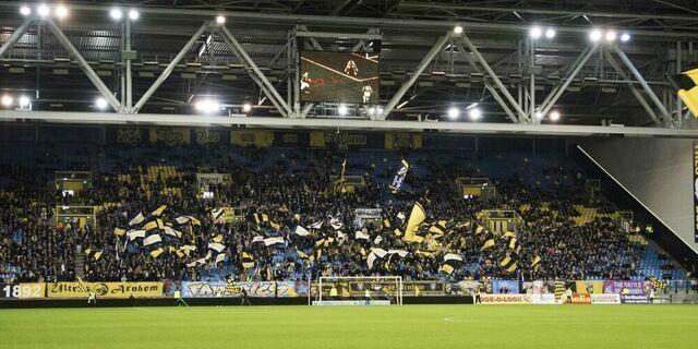 Stadionverbod voor zes supporters na Vitesse - Ajax: Racisme is ontoelaatbaar