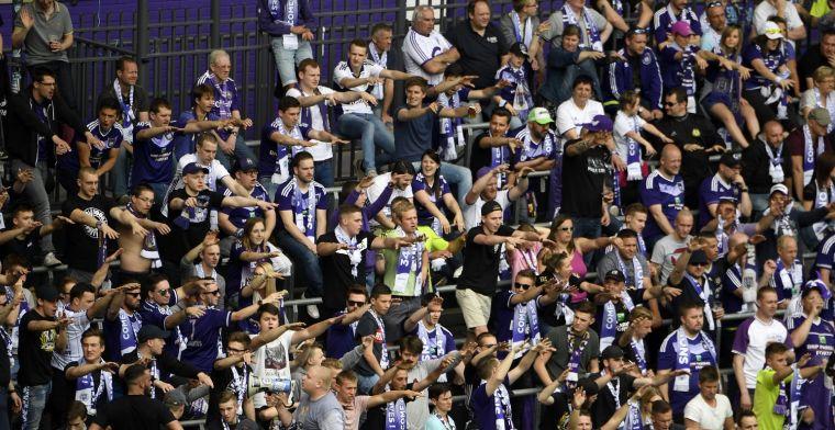 Anderlecht-fans niet verwend: Het is daar erger dan het slachthuis