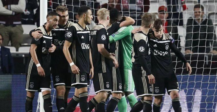 Ajax-fans aangevallen door hooligans in Lissabon: We konden geen kant op