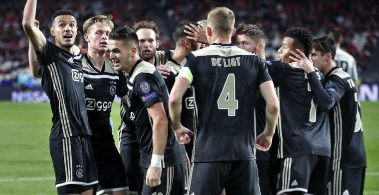 'Schaduwzijde' aan Europees succes Ajax: 'Dat betekent de nationale doodsteek'