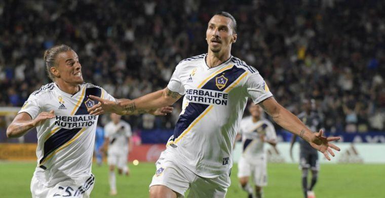 Zlatan voedt geruchten: 'Waarschijnlijker dat ik er aan de slag ga dan Wenger'