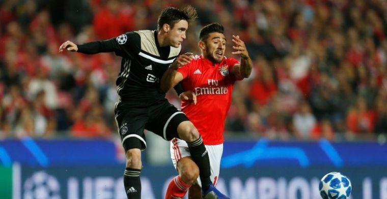 Tagliafico raadt Ajax transfer aan: 'Goede techniek en fysiek heel erg sterk'
