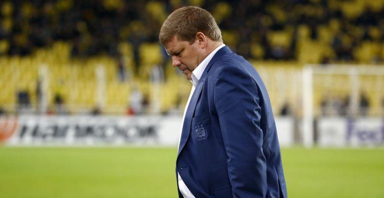 Nieuwe kopzorgen voor Vanhaezebrouck: Vrees dat hij niet kan spelen tegen Gent