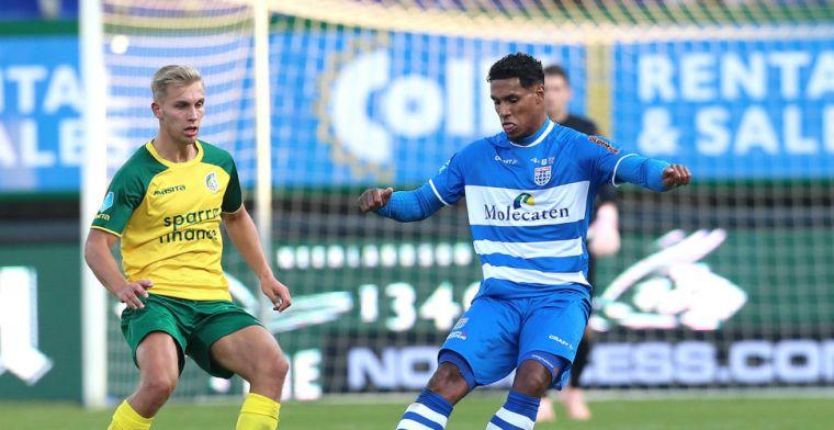 LIVE-discussie: Toch herkansing voor twee vroege wissels bij PEC Zwolle-Willem II