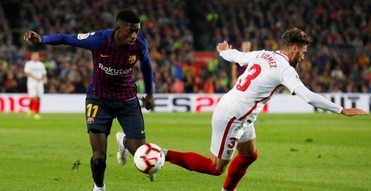 'Dembélé slaat Barça-training over zonder afmelding en neemt telefoon niet op'