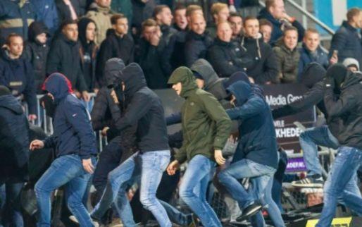 Afbeelding: Nederlandse politie heeft handen vol met Belgische 'fans': 'Acht aanhoudingen'