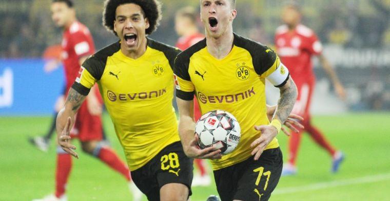 Witsel beslissend voor Dortmund in Der Klassiker tegen Bayern München