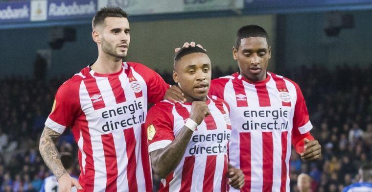 PSV bindt ook moedig De Graafschap aan de zegekar en blijft foutloos