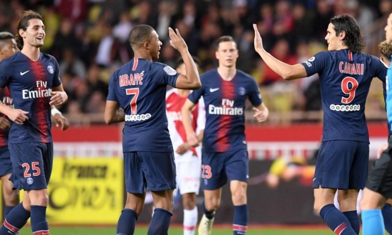 Afbeelding: Paris Saint-Germain laat weinig heel van Monaco en staat al 13 (!) punten voor