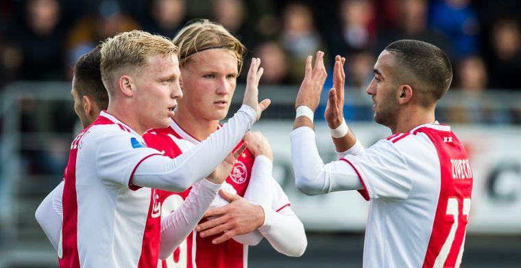 Superieur Ajax werkt tegen Excelsior aan doelsaldo en haalt hard uit in Rotterdam