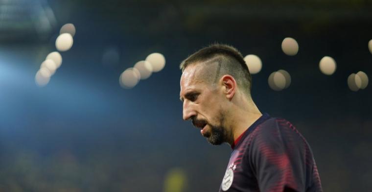 Update: Ribéry betuigt spijt na verbale en fysieke aanval tegen tv-analist