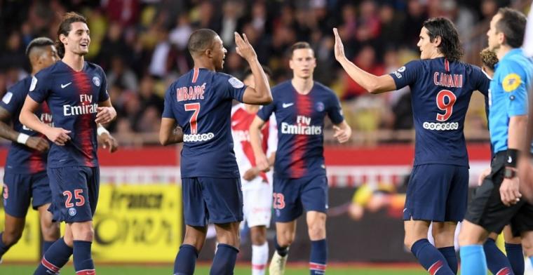 Paris Saint-Germain laat weinig heel van Monaco en staat al 13 (!) punten voor