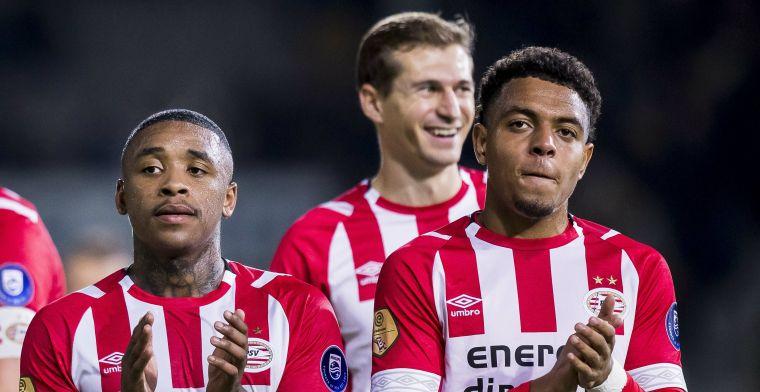 Bankzitter valt elf keer in bij PSV: Ik kan dus niet tevreden zijn