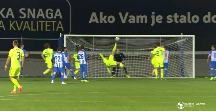 Dinamo Zagreb-spits doet gooi naar Puskás Award met ongelooflijke omhaal