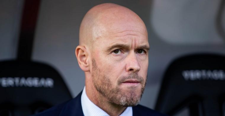 Ten Hag 'aangesproken' bij Ajax: 'Na PSV-uit was de directie echt klaar met hem'