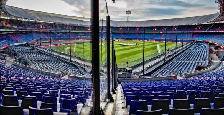 'Vermogende Rotterdammers benaderd voor financiering Feyenoord-stadion'