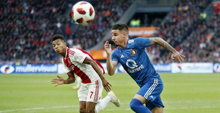 'Had er niet meer op gerekend dat ik ooit nog een kans zou krijgen bij Feyenoord'