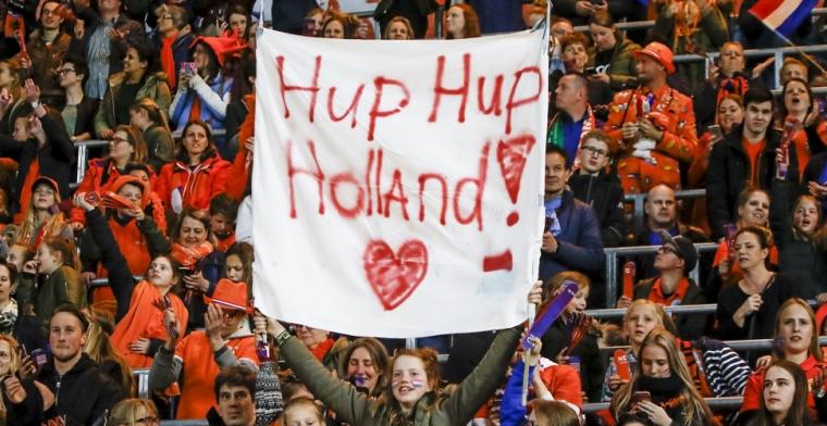 Oranje Vrouwen laten KNVB-kassa rinkelen met plaatsing voor WK in Frankrijk