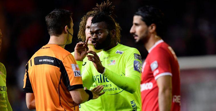 Oostende hoort straf voor rode kaart Nkaka tijdens veelbesproken match