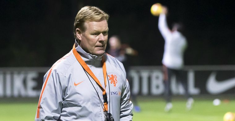 Koeman kijkt met stijgende verbazing naar Ajax-zege: Heb een andere denkwijze