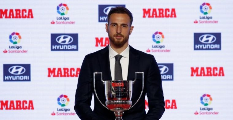 'Topkeeper Oblak ontevreden bij Atlético: winters vertrek bespreekbaar'