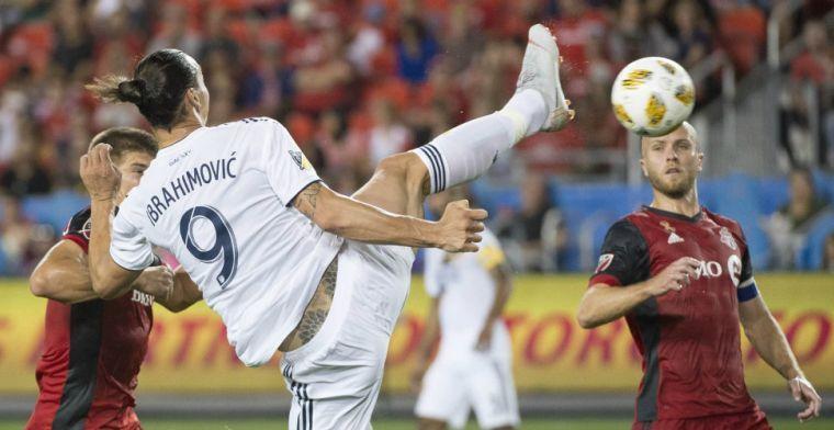 37-jarige Ibrahimovic is beste 'rookie' en troeft ex-ploegmaat Rooney af