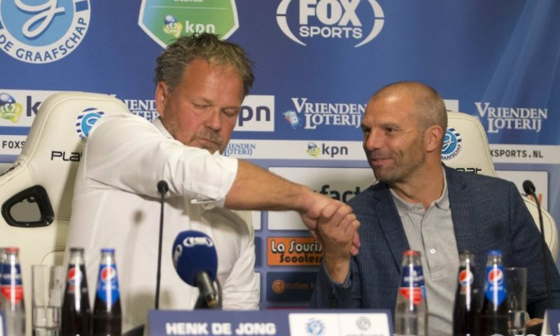 Afbeelding: Steijn boos op collega De Jong: