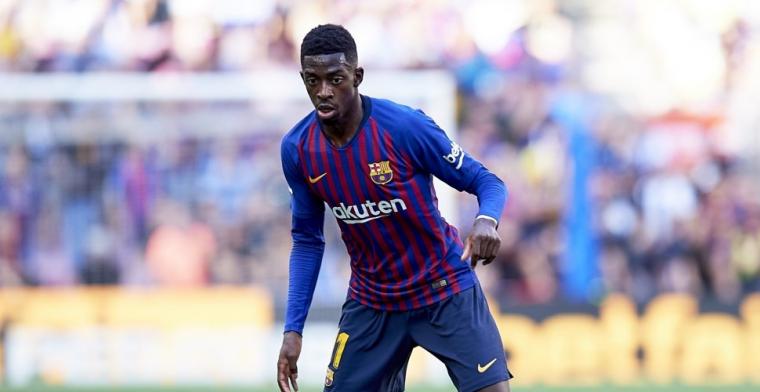 'Barcelona praat met zaakwaarnemer en geeft afwezige Dembélé laatste kans'