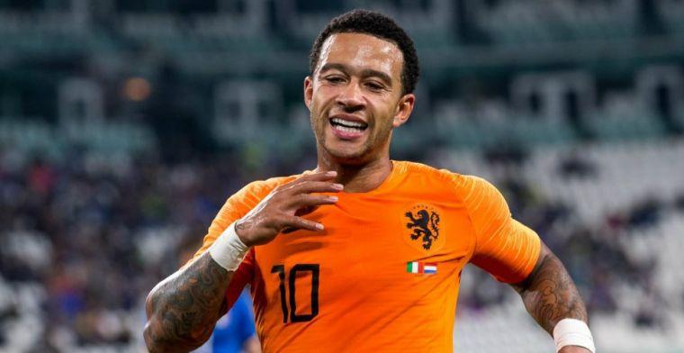 Memphis in rijtje met Suarez, Messi en Ronaldo: 'Zegt dat ik het goed heb gedaan'