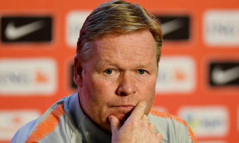 Afbeelding: Koeman reageert op Mundo Deportivo: 'Niemand weet het met De Ligt en De Jong'