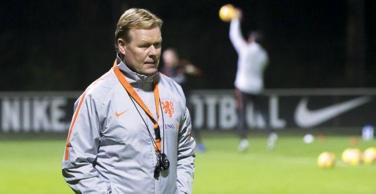 Koeman over 'bindende factor' van Oranje: 'Klaar om niveau van zijn club te halen'