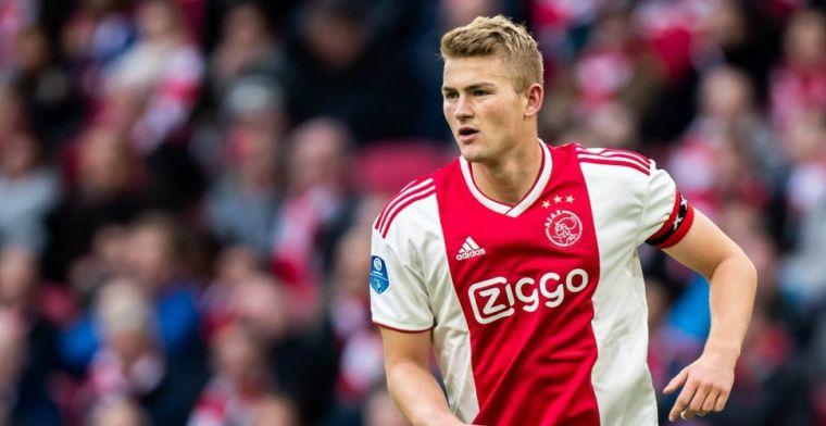 De Ligt: 'Gewoon prima, bij Ajax zit ik bij de top-vijf van het eerste elftal'