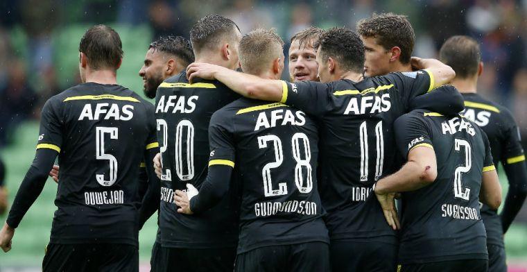 AZ wint doelpuntrijk oefenduel met FC Groningen: Van Rhijn wederom belangrijk