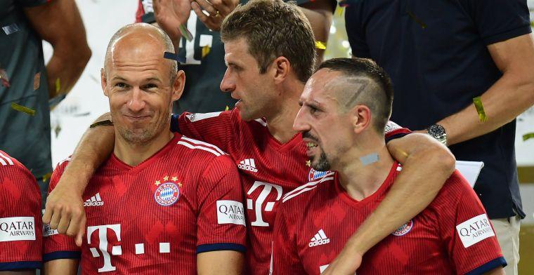 Bayern-selectie ondergaat facelift: exit Robben, sterren weg en De Ligt op lijstje