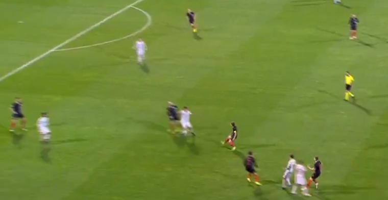 Genieten: Real-speler Ceballos rondt af voor Spanje na heerlijke aanval