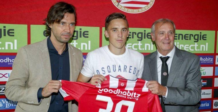 Geblesseerde Thomas: 'Inmiddels is de band met de spelers van PSV heel goed'