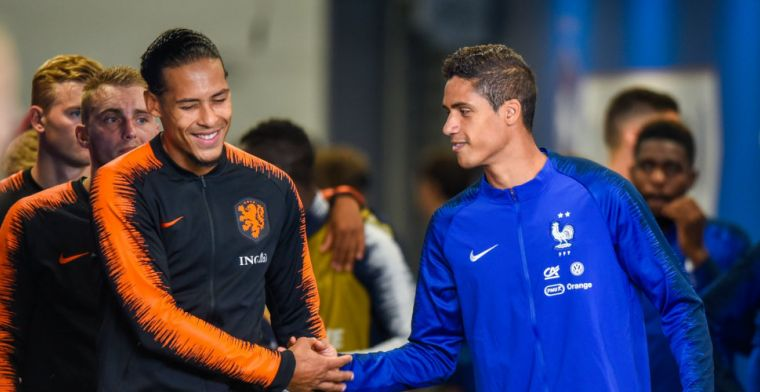 Van Dijk staat tegenover voorbeeld: 'Ramos is niet mijn type centrale verdediger'
