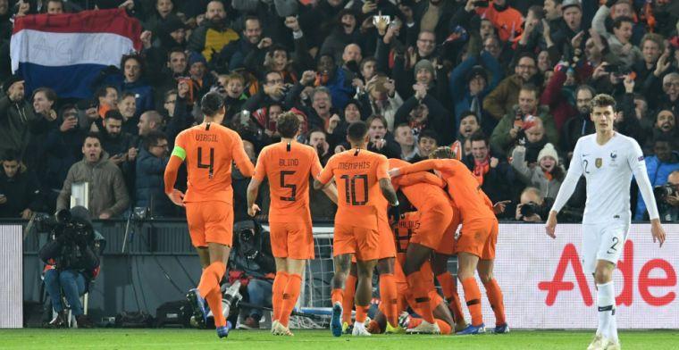 LIVE: Fenomenaal Oranje verslaat wereldkampioen Frankrijk (gesloten)