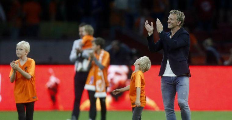 'Ik liet het goed verlopen tussen Robben, Van Persie, Sneijder en Van der Vaart'