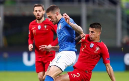 Afbeelding: Portugal plaatst zich voor finale Nations League na storm in Italië