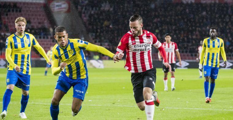'Ik denk dat iedereen begrijpt dat ik op dit moment niet tevreden ben bij PSV'