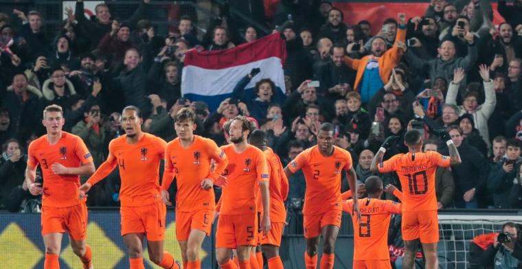 Van Hooijdonk: 'Ik vond het een teamprestatie van Oranje, maar hij was dé man'