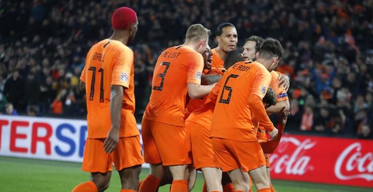 Europa geniet van historische prestatie Oranje: 'Prachtige tulpen'