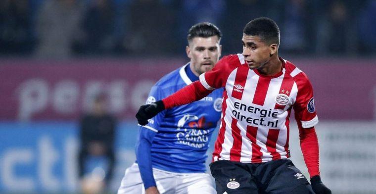 Rosario als voorbeeld: 'Lukt het niet bij PSV, dan kom ik daar via andere route'