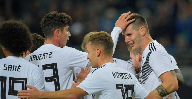 Duitse teammanager baalt van Frankrijk: 'Jogi geïrriteerd toen hij naar bed ging'