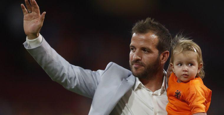 Van der Vaart reageert op gerucht rond 'Duitser' Van Bommel: 'Gun hem wat tijd'