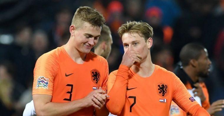 Boulevardkrant pakt uit: 'City en Ajax akkoord over De Jong, De Ligt naar Barça'