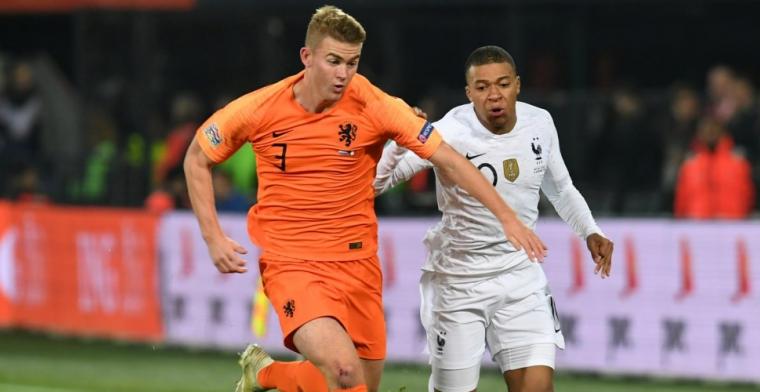 Vrees voor Eredivisie-exodus: 'De Ligt liet zien niet onder te doen voor Van Dijk'
