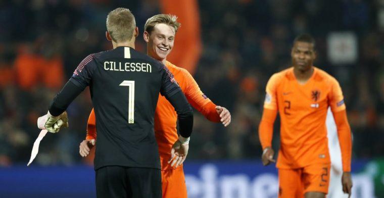 Perez geniet van Oranje: 'Hij is echt een bizar goede speler. Die wordt wereldtop'