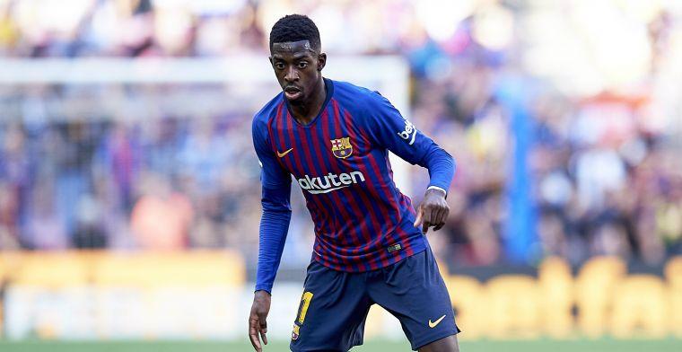 'Barça is er klaar mee en legt slecht etende, onaangepaste Dembélé ultimatum op'